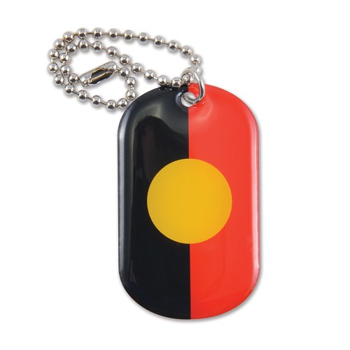 Epoxy Domed Dog Tag Keychain - Includes full colour logo