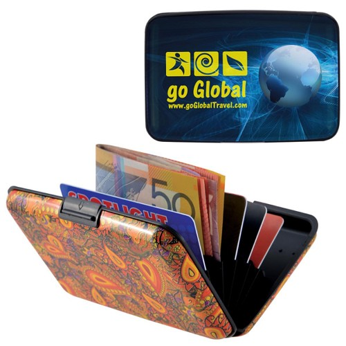 Aluminium Weekend Wallet / Purse - Includes a full colour logo, From $1.52