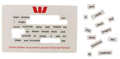 Poetry Magnets 95 x 150 mm