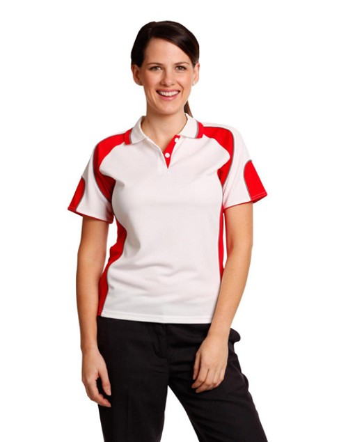 Ladies' Cooldry Contrast Polo With Sleeve Panel, From $11.8