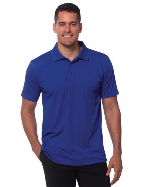 Men's Cooldry Textured Polo