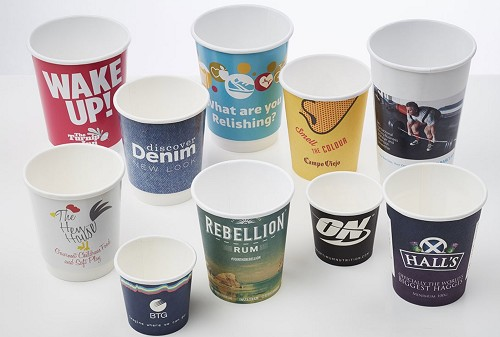 Cafe Paper Cup - 8oz (237ml) - Full Colour Print