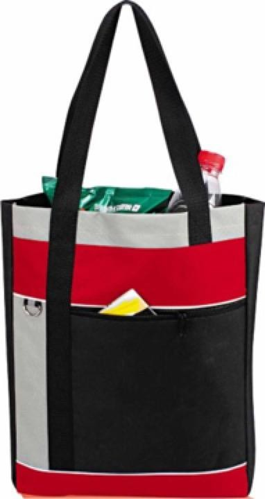 Polyester Conference Bag -  Includes a 1 colour printed logo, From $4.29