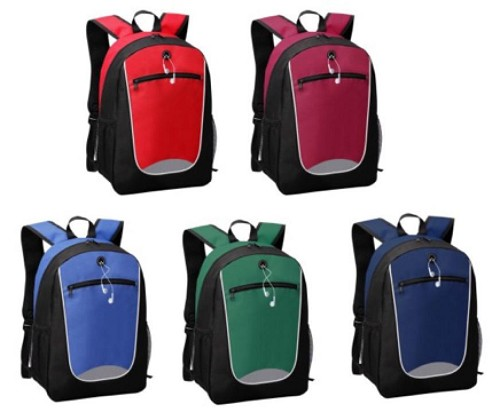 Back Pack -  Includes a 1 colour printed logo