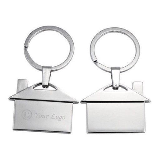 House Shape opener key ring -  Includes laser engraving logo, From $1.55