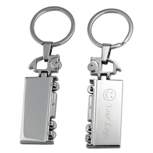 TRUCK KEY RING -  Includes laser engraving logo