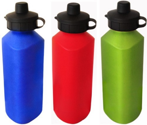 Triangle Aluminium Sport Bottle-BPA Free -  Includes laser engraving logo, From $3.76