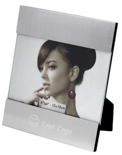 Aluminium Photo Frame -  Includes laser engraving logo, From $3.37