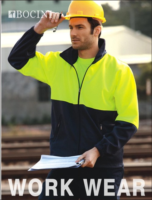 UNISEX ADULTS HI-VIS FULL ZIP FLEECE, From 17.01