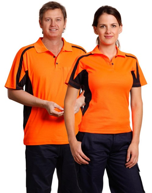 mens truedry S/S safety polo