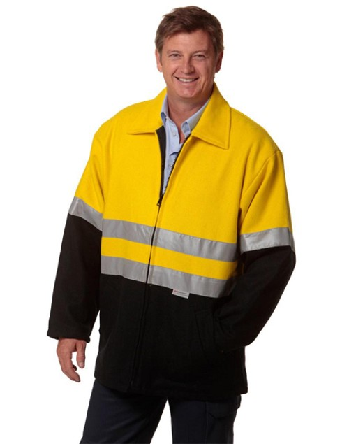 Two Tone Bluey Safety Jacket With 3M Tape