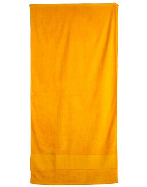 terry velour beach towel 75x150 cm, From $13.1